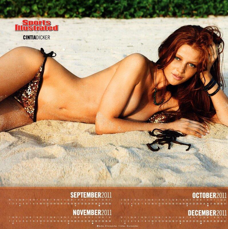 Sports Illustrated Swimsuit Edition 2012 calendar - Cintia Dicker / Синтия Дикер - кликабельно, 9 мегапикселей