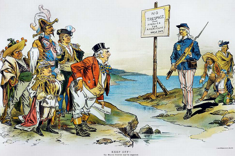 an analysis of the objectives and effects of the monroe doctrine in the united states