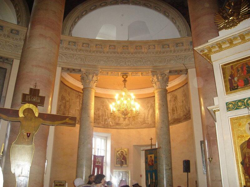 Свято-Димитриевский храм в Голицынской больнице - больнице для бедных -1802г
