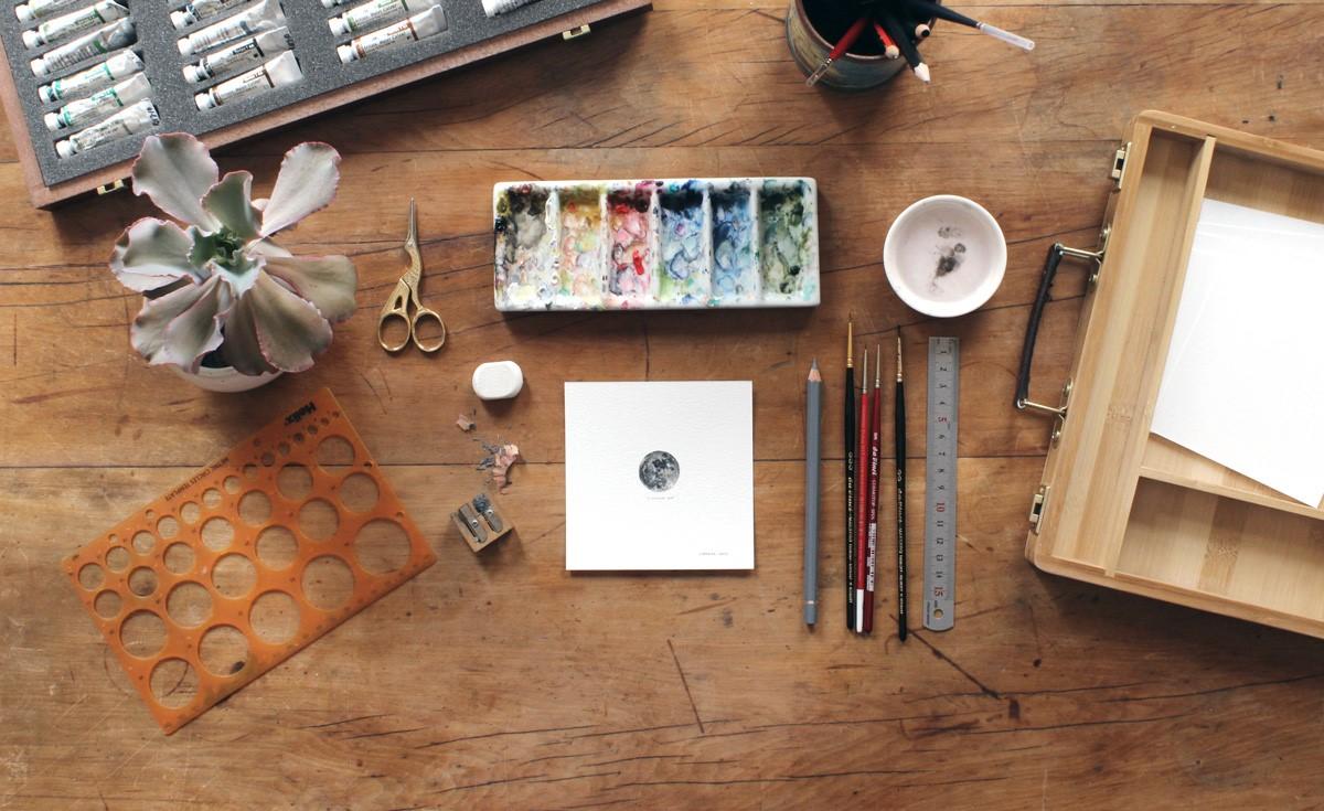 Миниатюрки от Лоррейн Лутс Творчество