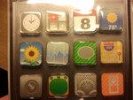 Apple iPhone Icon Style Magnetic Sticker Magnets Adhesive Decoration for Refrigerator Fridge HLI-32562 - $6.83