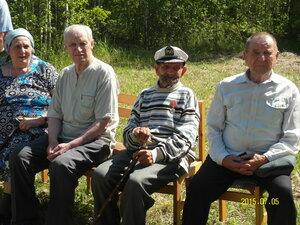 5 июля 2015 г. Открытие памятного знака в память о деревне Прусаковка, где родился и жил Герой Советского Союза Баранов Иван Егорович. Жители бывшей деревни Прусаковка.