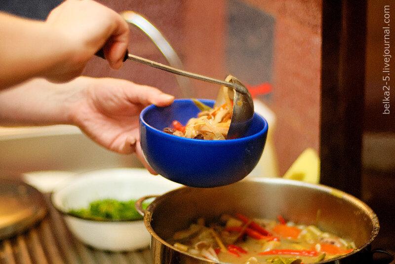 Tom Yum Soup with Coconut Milk Tom Khaa