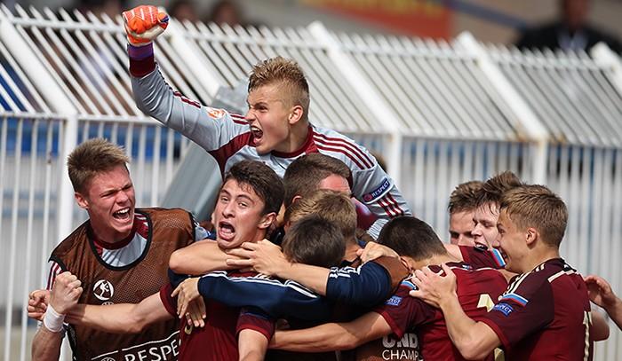 Сборная России 1998 года рождения. Чемпионат Европы - 2015 (U17). Победа в четвертьфинальном поединке над сборной Англии.