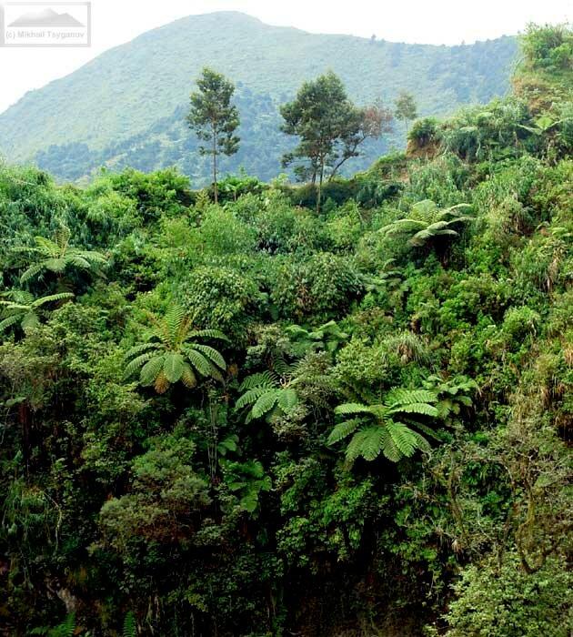 Колодец Джалатунда на плато Диенг