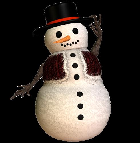 Снеговик-папа