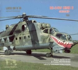 Книга Lock On No. 16 Aircraft Photo File: Mi-24W Hind E Gunship