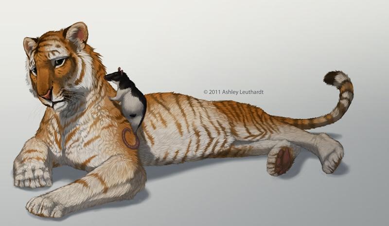 Работы художника Ashley Leuthardt(Katanimate)