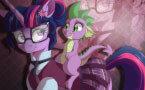 Твайлайт Спаркл Пони найди Спайка (Pony game)