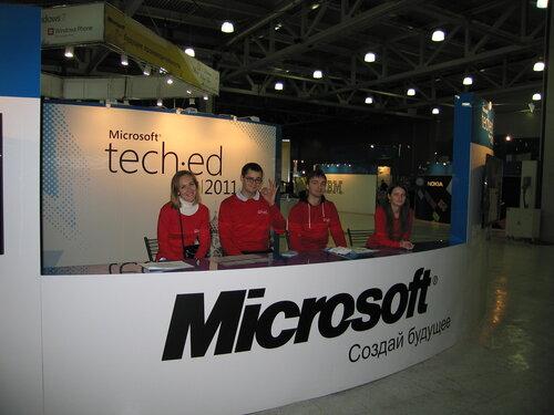 Атмосфера праздника на Tech.ed 2011