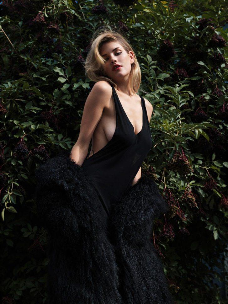 модель Эшли Смит / Ashley Smith, фотограф Nadine Ottawa