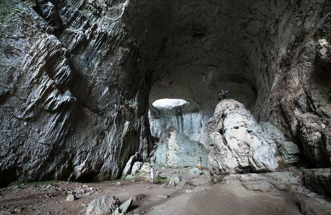 Пещера Глаза Бога. Болгария