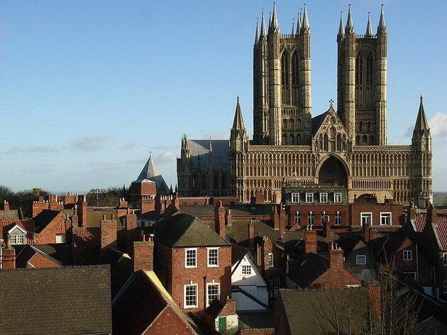 Линкольнский собор Девы Марии. Великобритания
