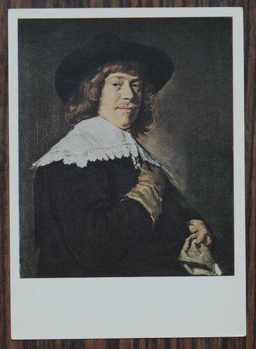 Портрет молодого человека с перчаткой в руке. Ок. 1650 г.