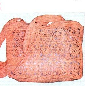 Вязаная сумка крючком Вязание и рукоделие.