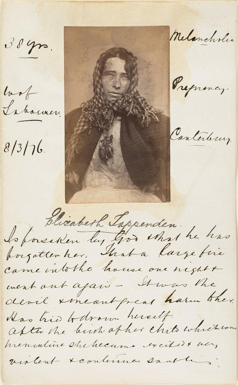 1876. Элизабет Таппенден
