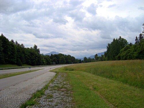 На подъезде к Альпам