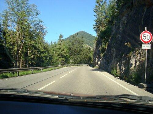 Пейзажи заставляя сбавлять скорость