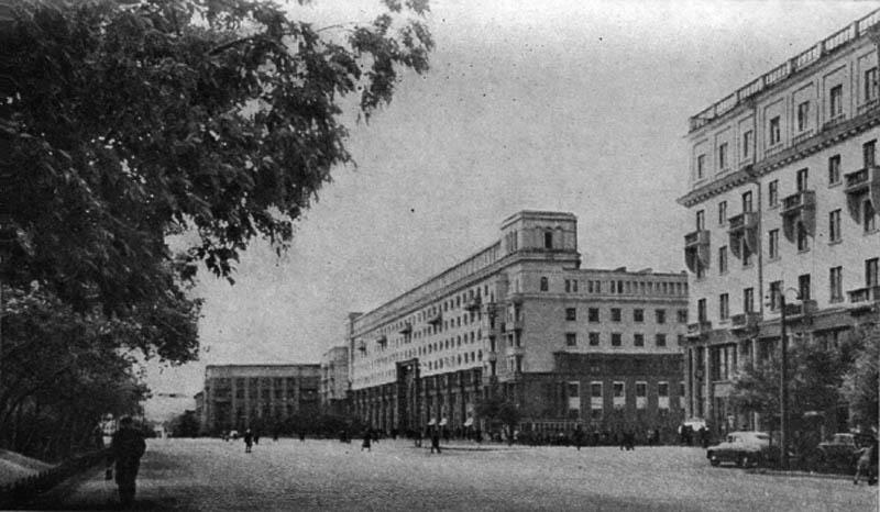 Улица Спартака.