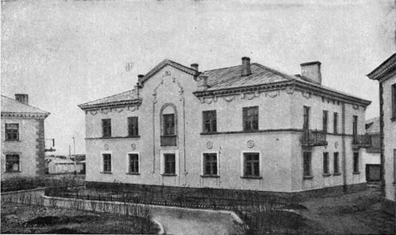 Жилой дом в Ленинском районе. 1946-1948 гг.