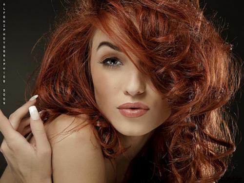 Рыжие красотки и макияж
