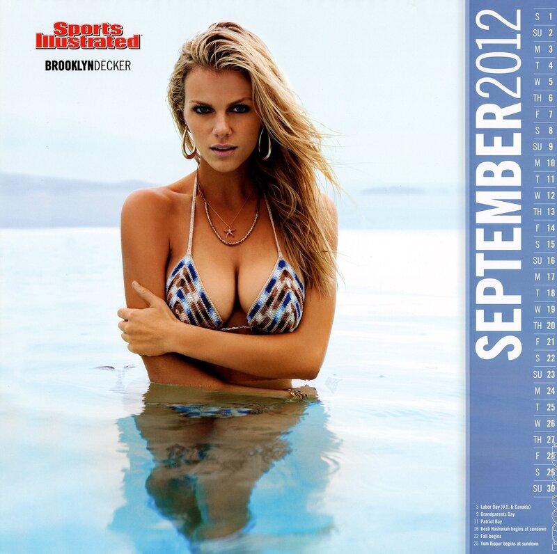Sports Illustrated Swimsuit Edition 2012 calendar - Brooklyn Decker / Бруклин Деккер - кликабельно, 9 мегапикселей