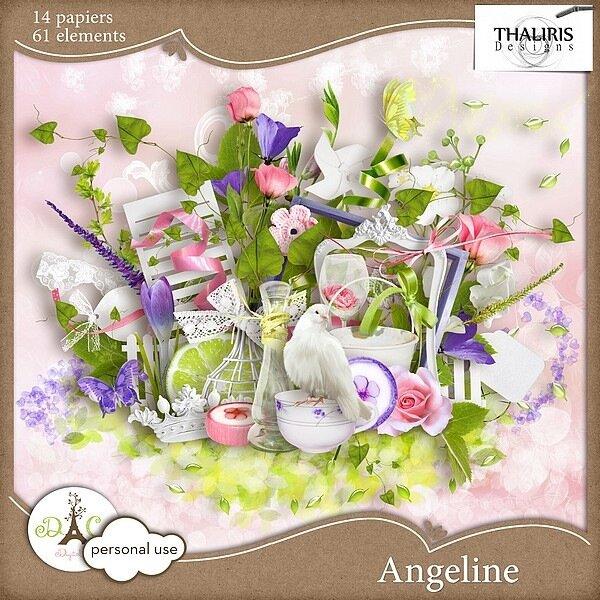 Скрап-набор Angeline