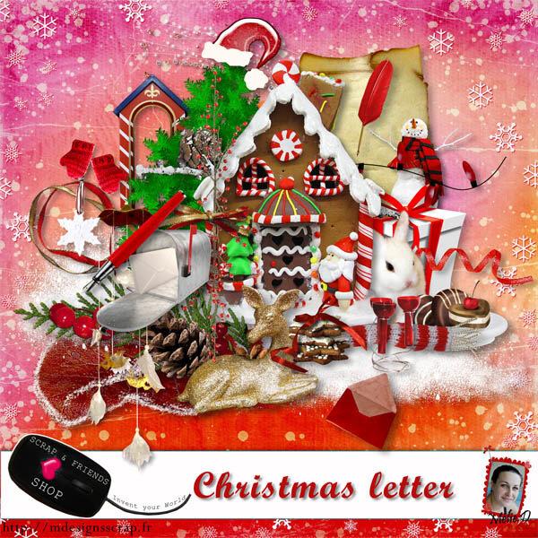 Скрап-набор Christmas letter