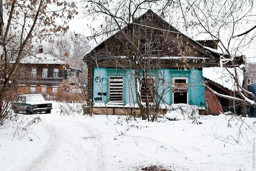 заброшенный дом нн