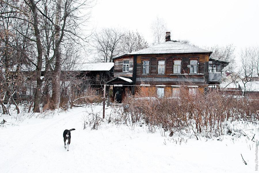 старые дворы нижнего новгорода