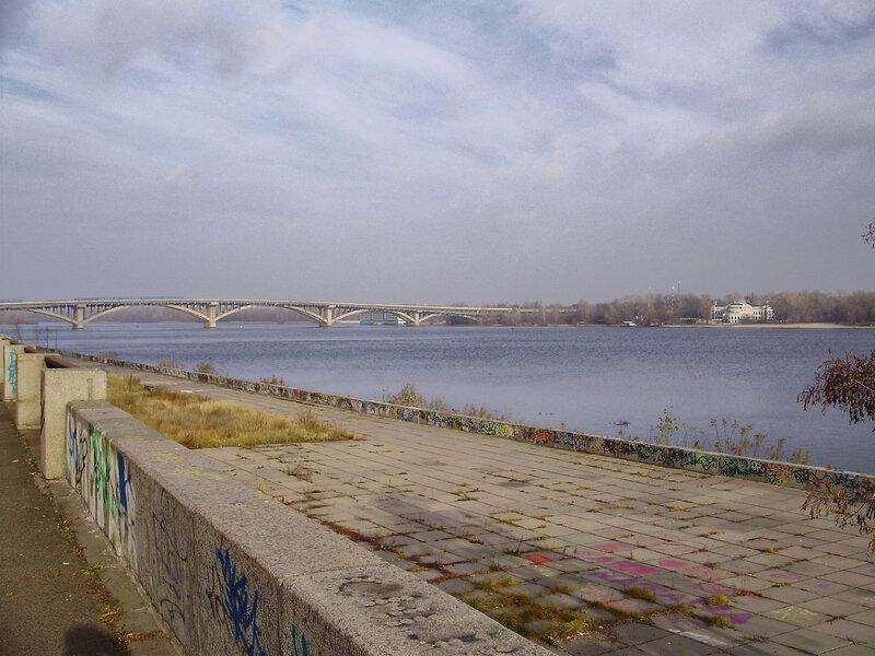 Днепровский спуск: строительство развязки 26.11.2011