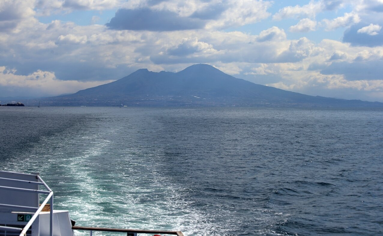 Gulf of Naples. Vesuvius