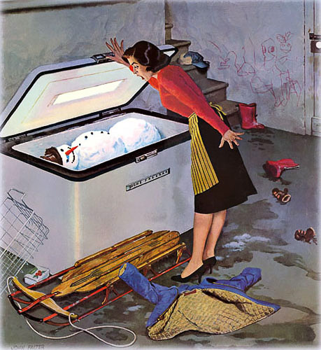 Deep-Freeze, 1959. Illustrated by John Falter (1910-1982)..jpg