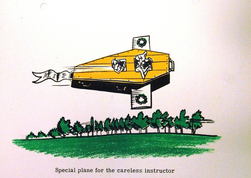 Special plane for the careless instructor