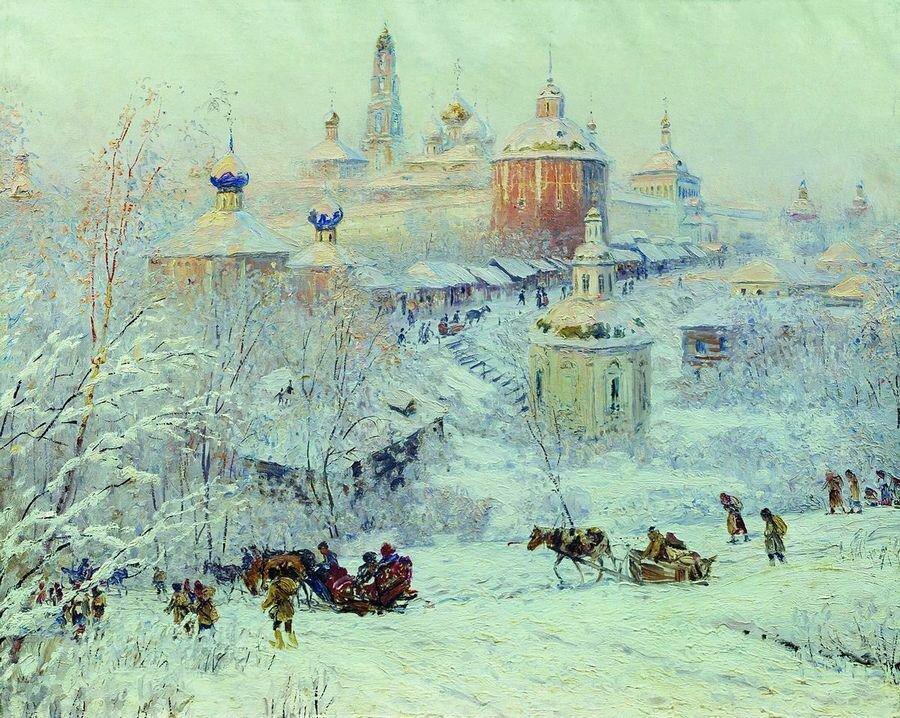 Егорнов.Зима в лесу