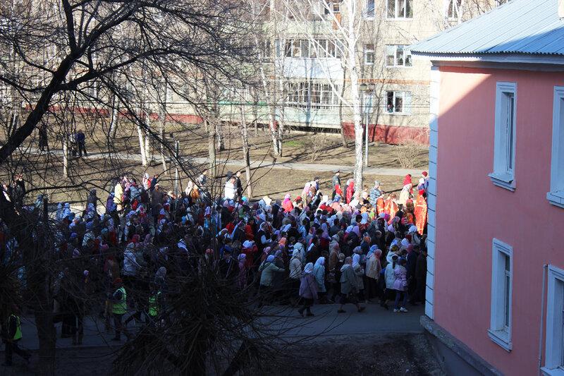 Крестный ход 2015 года