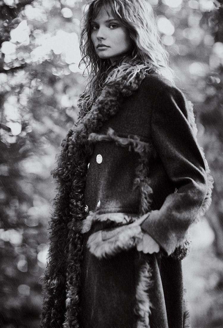 Магдалена Фраковяк (Magdalena Frackowiak) в журнале MIXT(E)