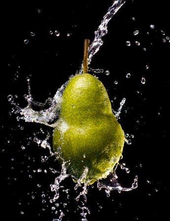 Как фотографировать фрукты - световая схема