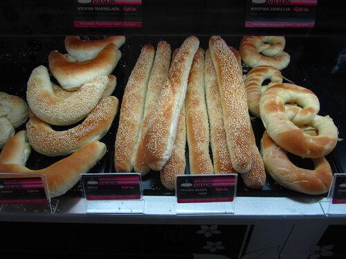 Хорватия, булочная