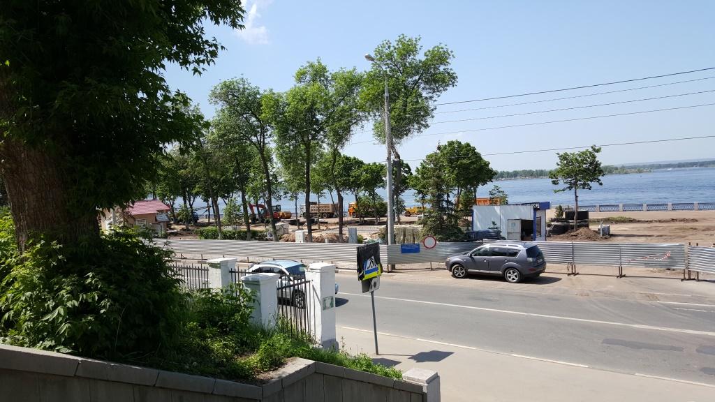 Ремонт самарской набережной от ул. Красноармейской до ул. Вилоновской.