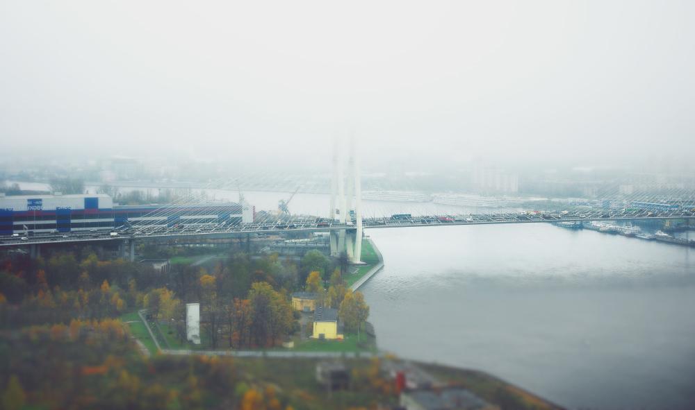 Вантовый мост Петербург