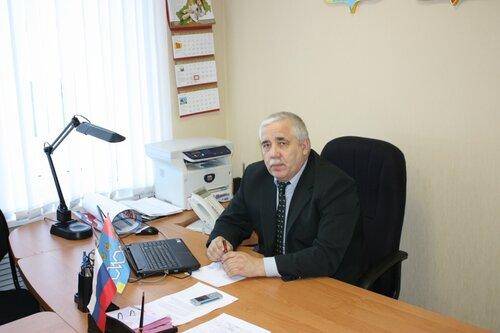 Заместитель главы района М. М. Солдатихин