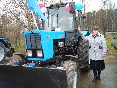 Интервью с главой администрации Трестенского сельского поселения Г. Н. Сергеевой