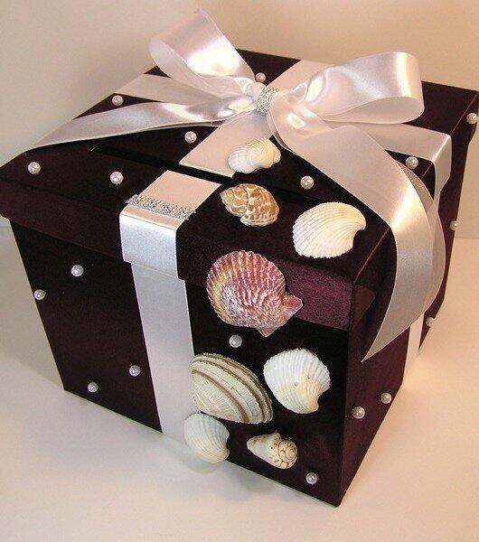 Как украсить коробку для подарка своими руками