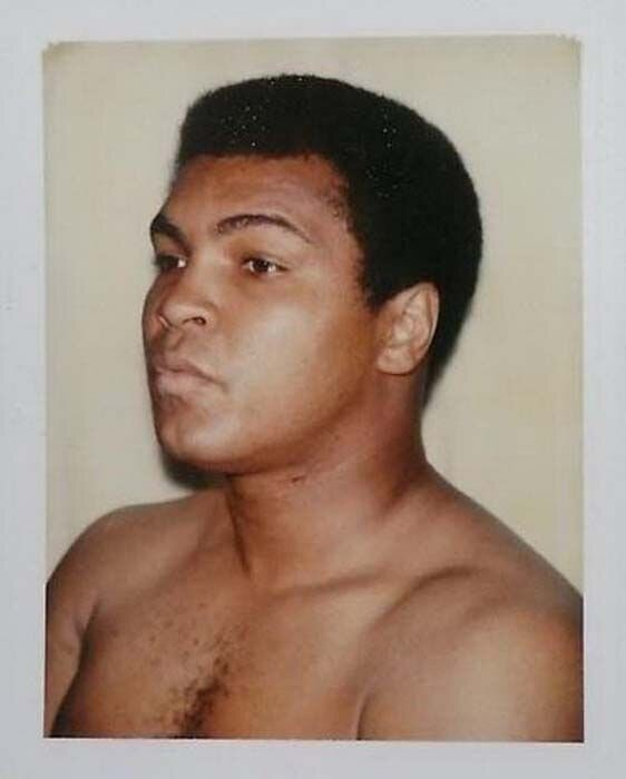 Muhammed Ali by Andy Warhol