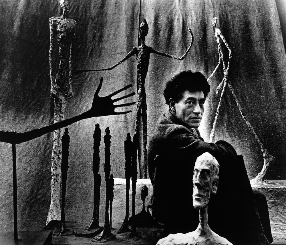 by Gordon Parks Alberto Giacometti, Paris1951