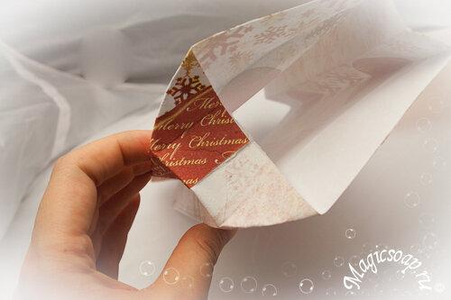 Упаковка новогодних подарков - восхитительная упаковочная бумага и крафт пакет своими руками!