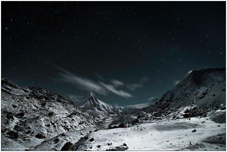 Звездное небо Лобуче.