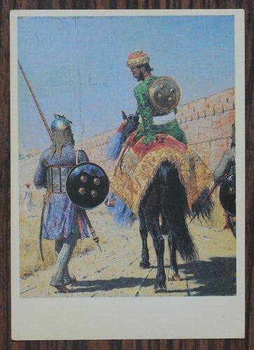 Всадник-воин в Джайпуре. 1874-1876