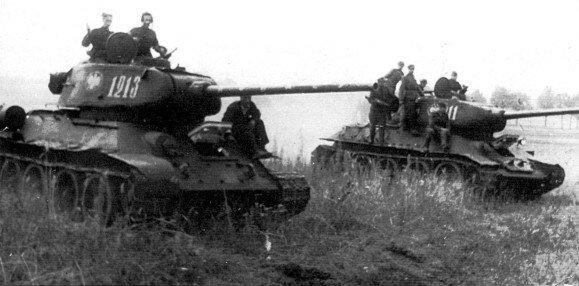 T-34 w Wojsko Polskie.